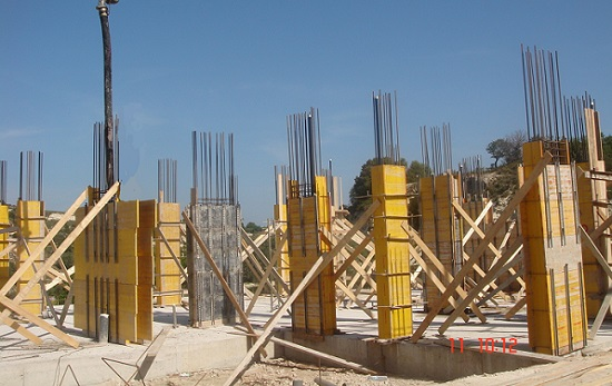Pivate villa construction in Letymbou Paphos 3