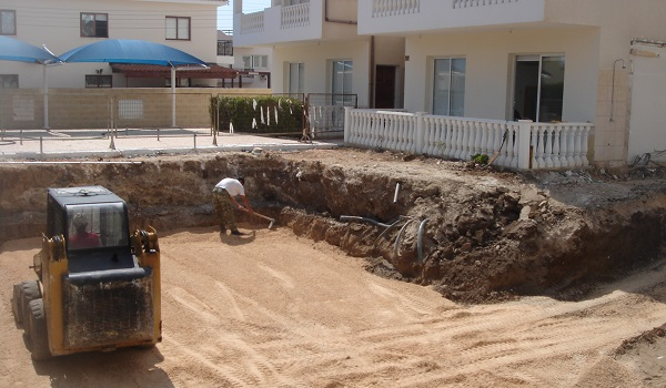Swimming pool construction paphos Cyprus 03