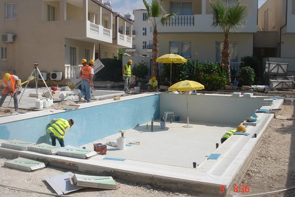 Swimming pool construction paphos Cyprus 09