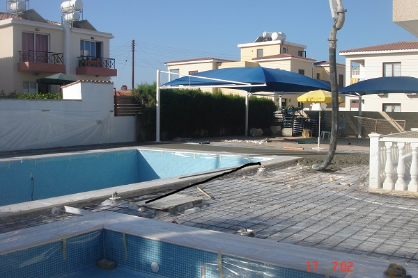 Swimming pool construction paphos Cyprus 11