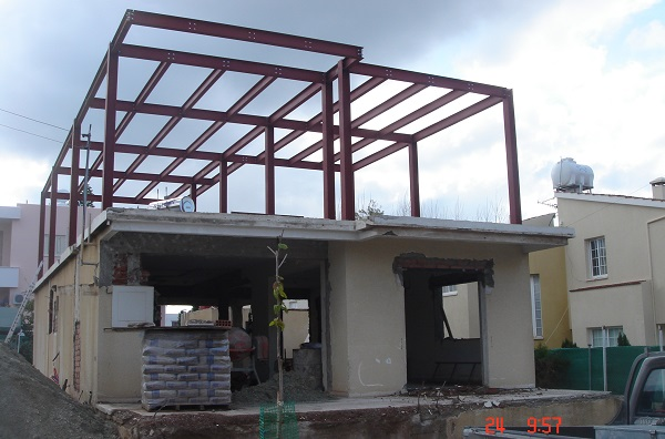 house extension and modelling paphos contractor