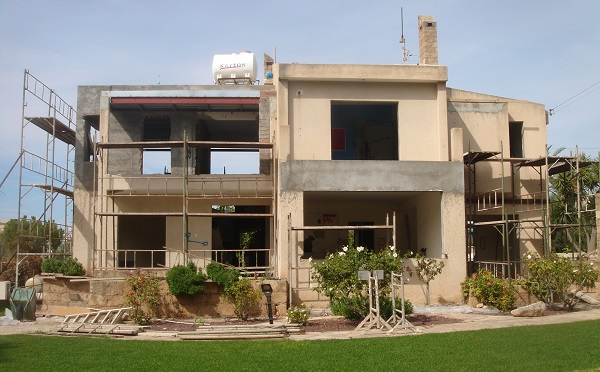 paphos house renovation contractor minas mina cyprus