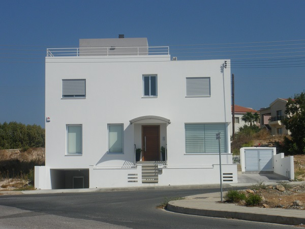 Building of two storey private residence in Paphos