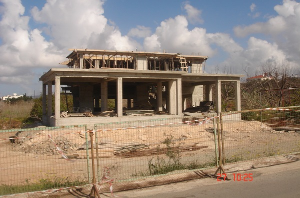 House Building Paphos Minas building contractor
