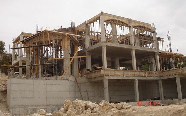 Pivate villa construction in Letymbou Paphos 5