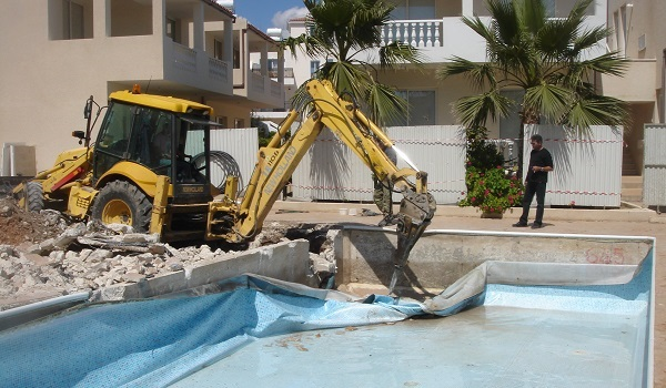 Swimming pool construction paphos Cypru 01