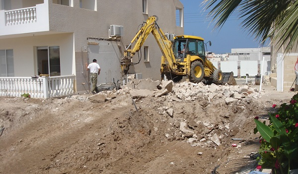 Swimming pool construction paphos Cyprus 02