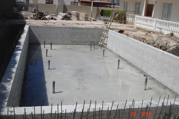 Swimming pool construction paphos Cyprus 04