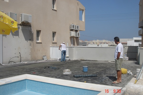 Swimming pool construction paphos Cyprus 10