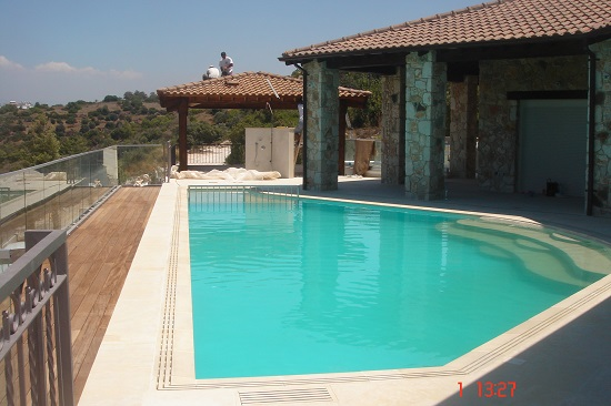 Luxury home renovation Paphos swimming pool