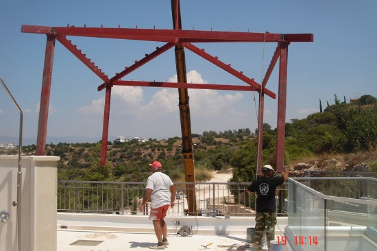 steel structure Paphos Cyprus